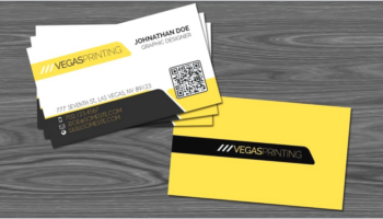 QR Code Business Card Templates