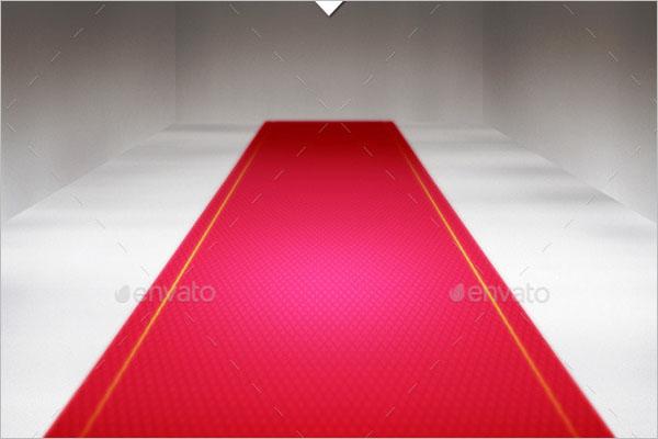 Red Carpet PSD Design
