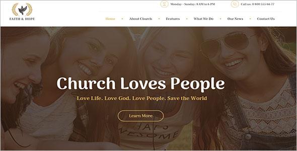ReligionSpiritual WordPress Theme
