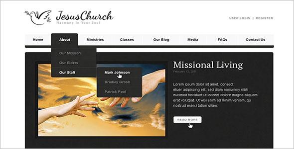 Religious Spiritual WordPress Theme