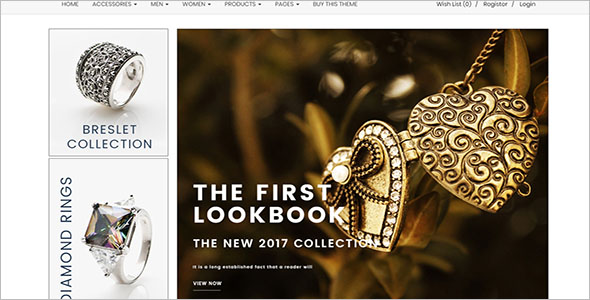 Responsive Jewelry Opencart Theme