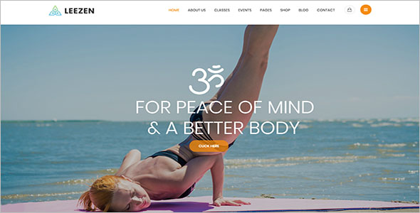 Responsive Spiritual  WordPress Theme