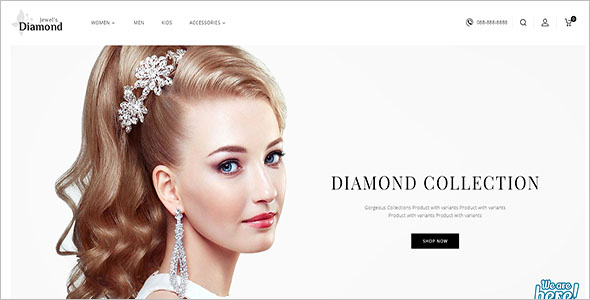 Retail Opencart Jewelary Theme