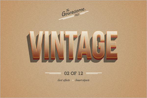 Retro Graphic Design Template