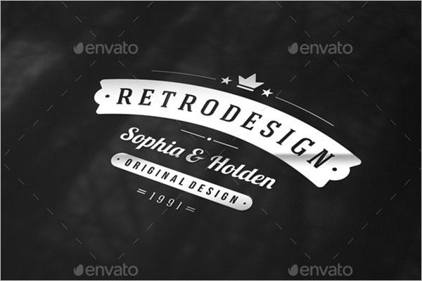 Retro Typography Poster Design
