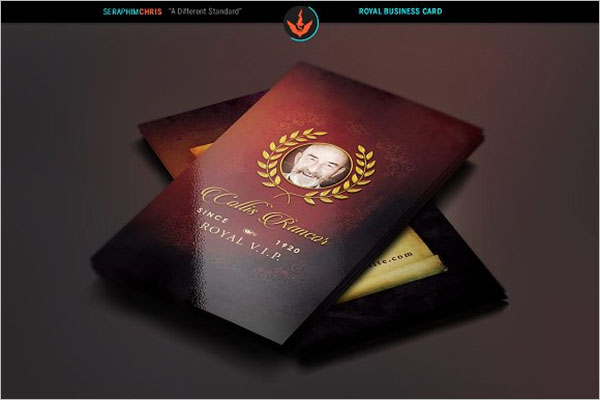Royal Church Business Card Design