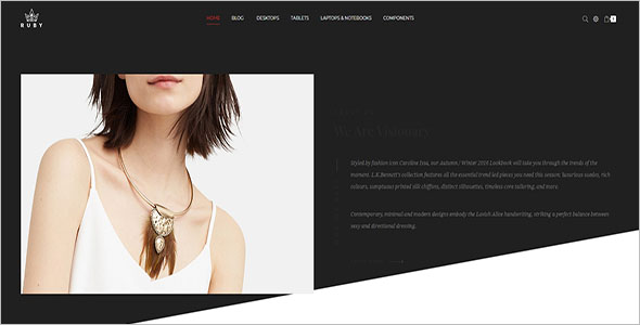 Ruby Jewelry Store Opencart Theme