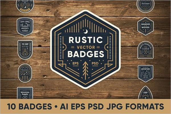 Rustic Art Graphic Design Template