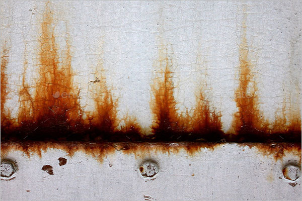 Rusty Painted Metal Sheet Textures