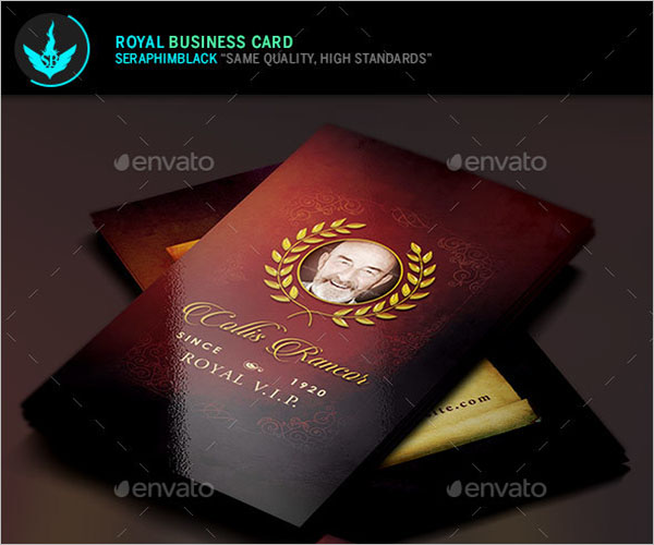 Sample Church Business Card Design