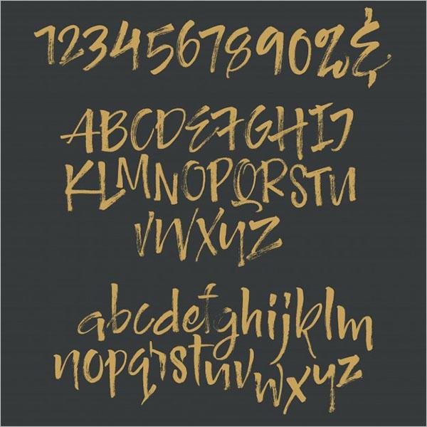 Sample Font For Designers