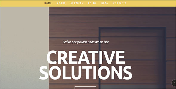 Sample Furniture WordPress Theme