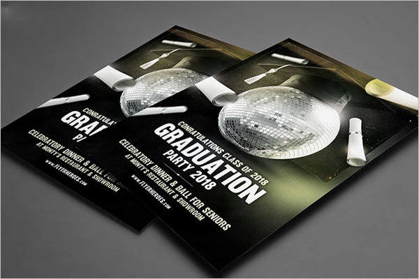 Sample Graduation Flyer Template