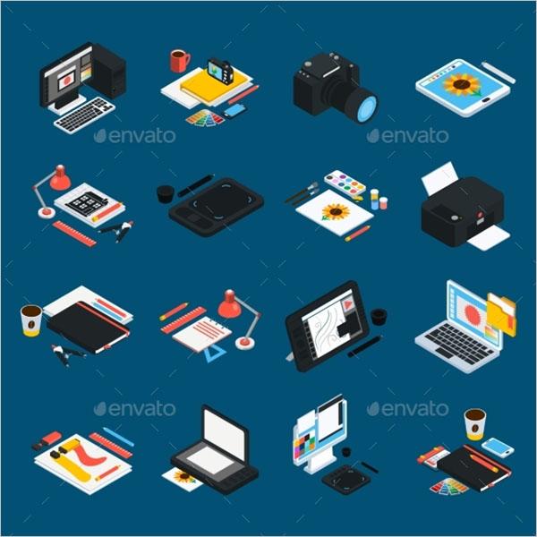 Sample Graphic Design Icon