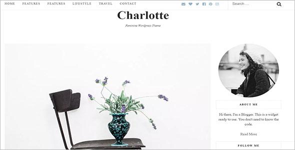 Sample Lifestyle Blog Theme