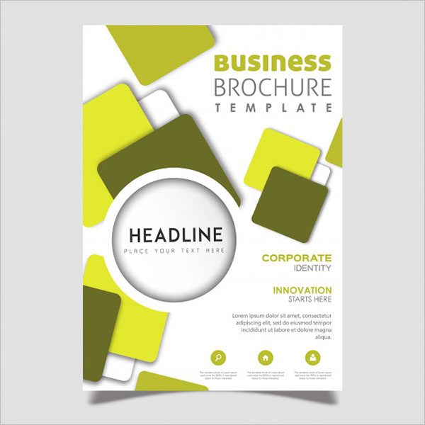 Sample Typography Brochure Design