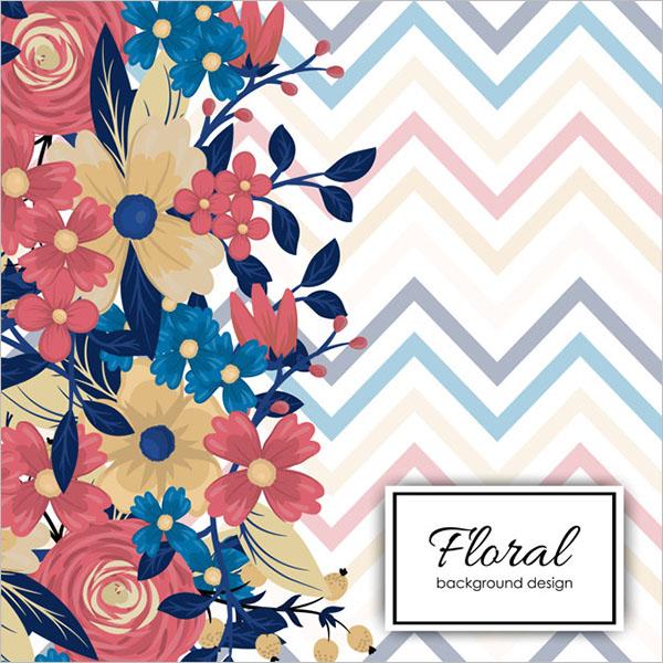 Sample Vintage Floral Texture
