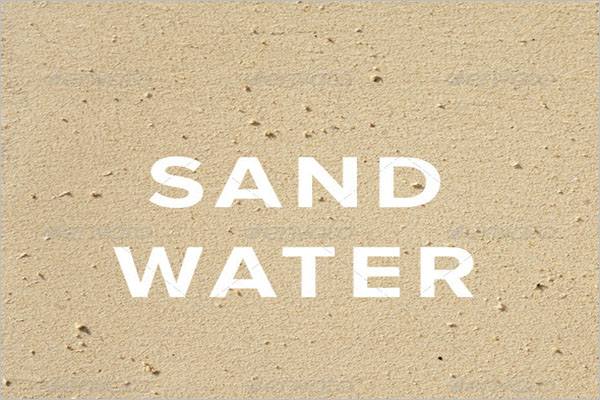Sand Water Texture Design