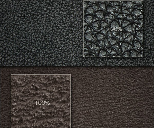Seamless Leather Texture Template