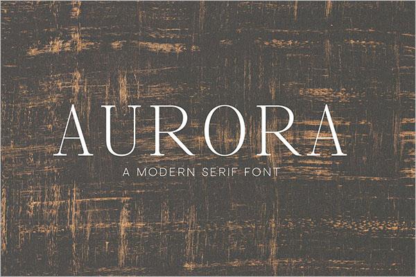 Serif Font For Designer
