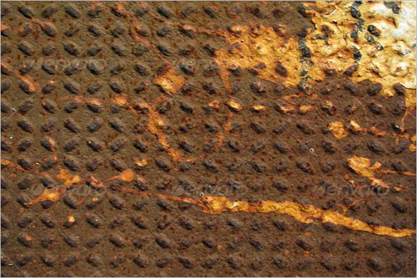 Shiny Rust Metal Texture Design