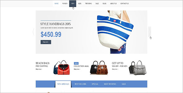 Shopping Magento Community Theme