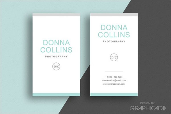 Simple Staple Business Card Design