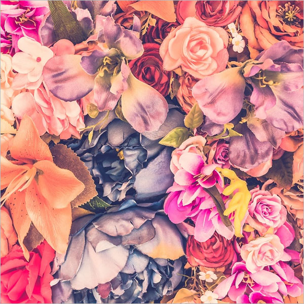 Smaple Floral Wallpaper Texture
