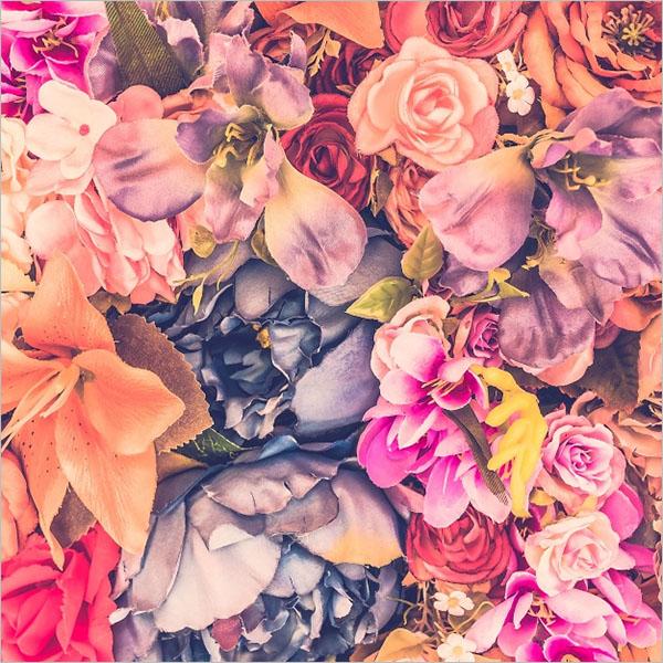 Smaple Floral Wallpaper Texture