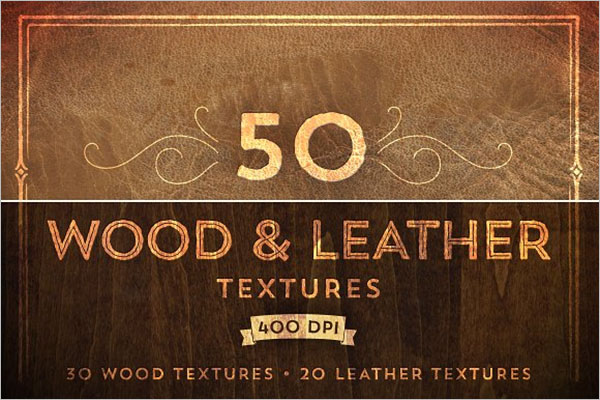 Smooth Leather Texture Design