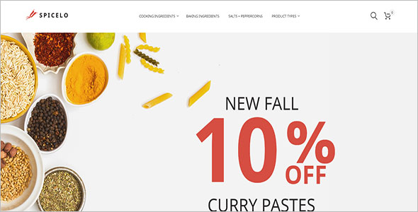 Spice Shop Magento Theme