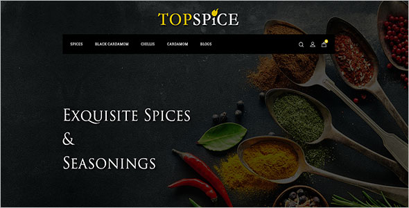 Spice Store OpenCart Template