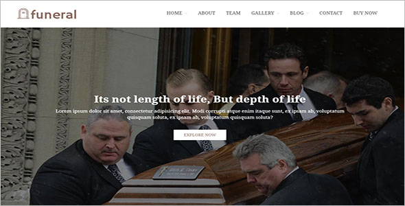 Spiritual Website WordPress Template