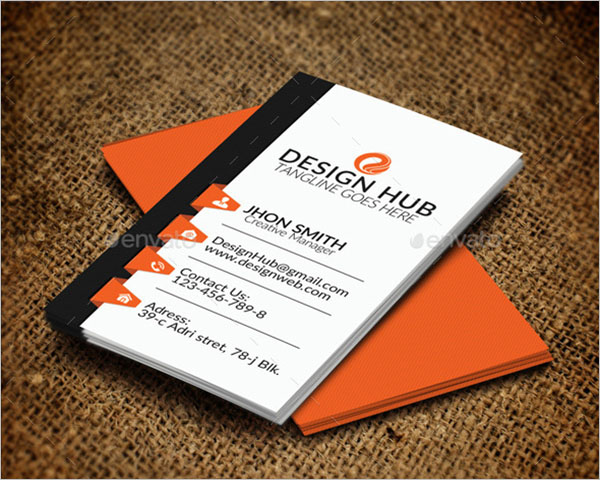 Staple Business Card Template Photoshop