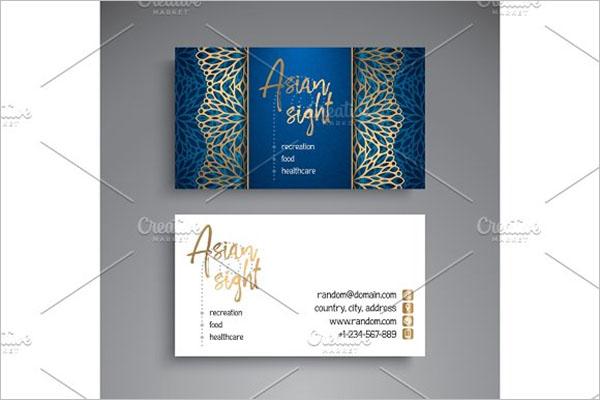 Tattoo Business Card Design