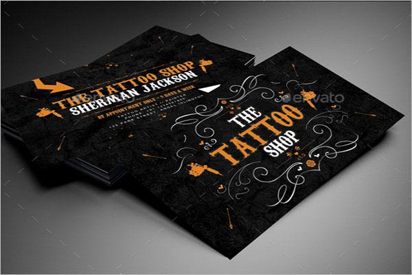 Tattoo Business Card Ideas
