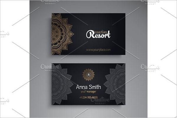 Tattoo Studio Business Card Design