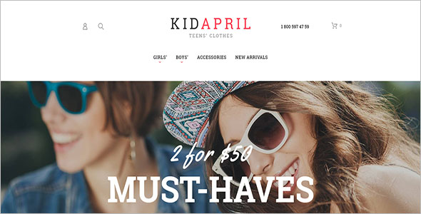 Teen's Clothes & Fashion Magento Theme