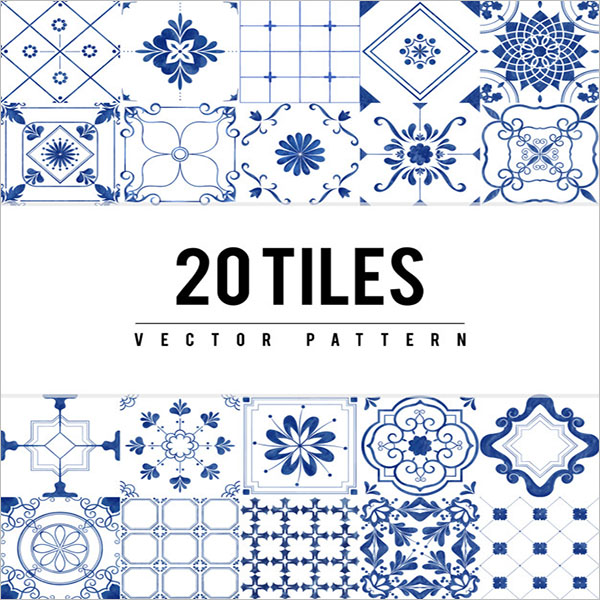 Tiles Textured Pattern Design