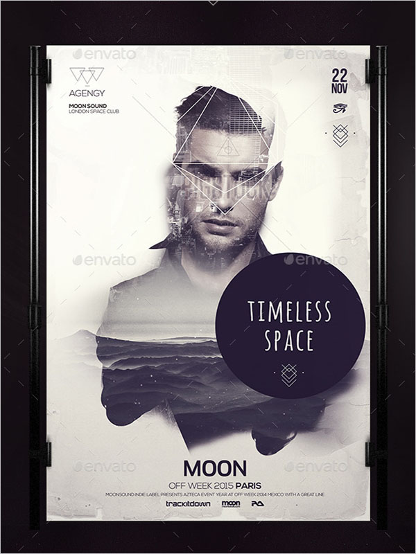 Timeless Double Exposed Poster
