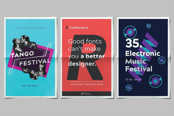 Type Poster Design Inspiration
