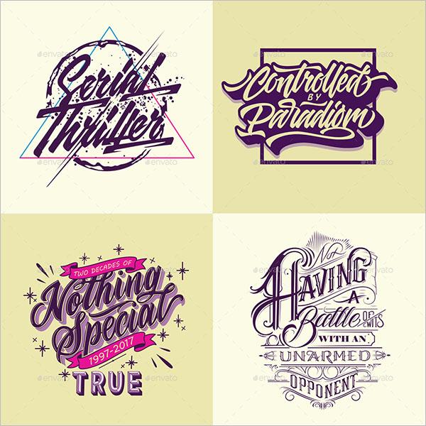 Typography Poster Design Photoshop