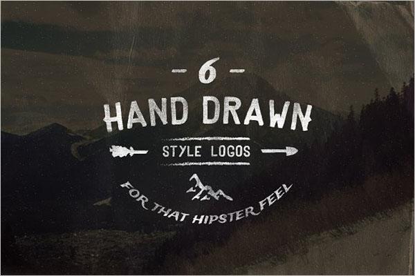 Vintage Hand Drawn Style