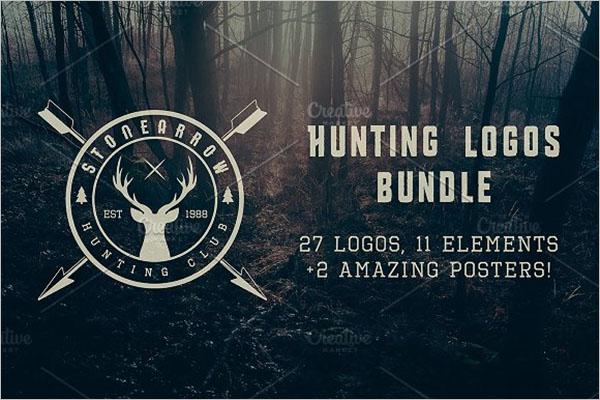 Vintage Hunting Graphic Design