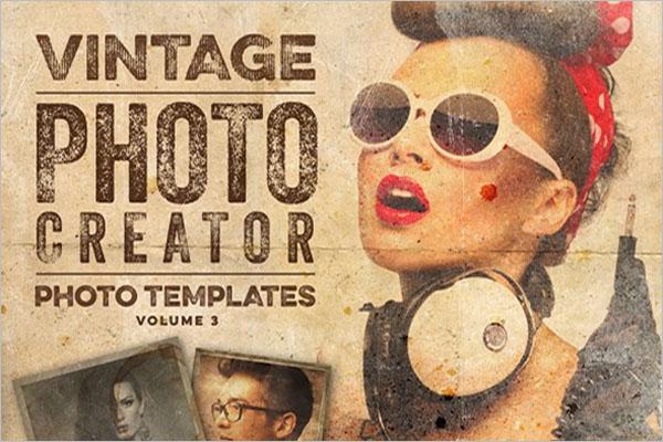 Vintage Photo Graphic Design
