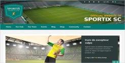 Volleyball Team WordPress Theme