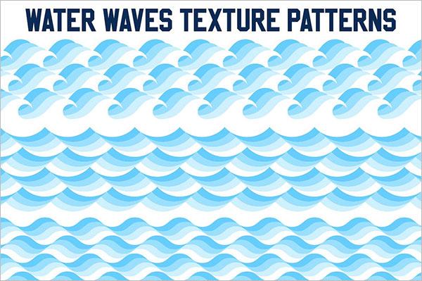 Water Waves Texture Design