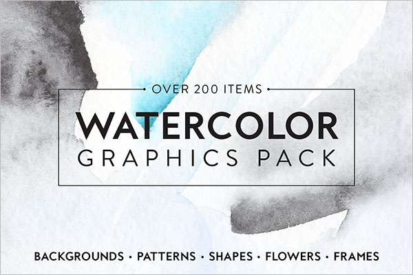 Watercolor Graphic Poster Design