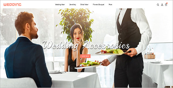 Wedding Jewelry Opencart Theme