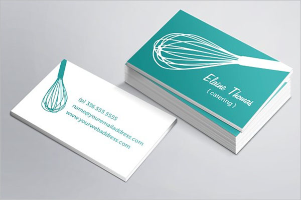Whisk Catering Business Card Template